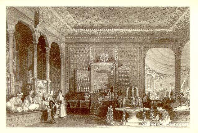 Imagini pentru prima cafenea din lume constantinopol